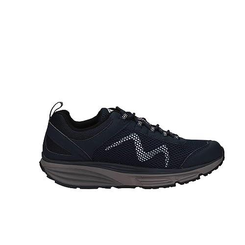 Mbt Hombre COLWPBBLU Azul Tela Zapatillas: Amazon.es: Zapatos y complementos