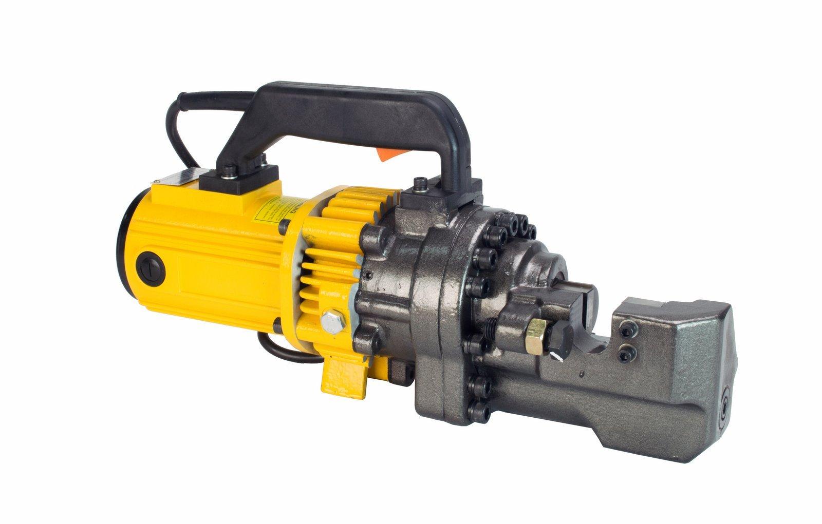Steel Dragon Tools RBC08 1'' #8 Electric Hydraulic Rebar Cutter 2000 watt Motor