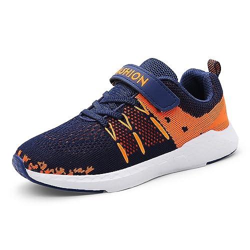 Zapatillas Running Niña Niño Deporte Zapatos Correr Calzado Verano para Niños De Trail Deportivas Casual Sneakers Negro Rosado Azul 28-39: Amazon.es: ...