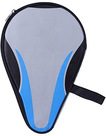 2f454cf352d5 Leezo Table Tennis Bat Case Oxford Cloth Waterproof Table Tennis Bat Cover  Dust-proof Zipper