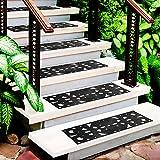 casa pura Rubber Stair Treads   Decorative Non-Slip