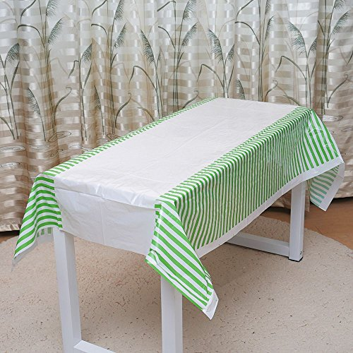 EORTA Dinner Tablecloth Disposable Table Covers Suitable for