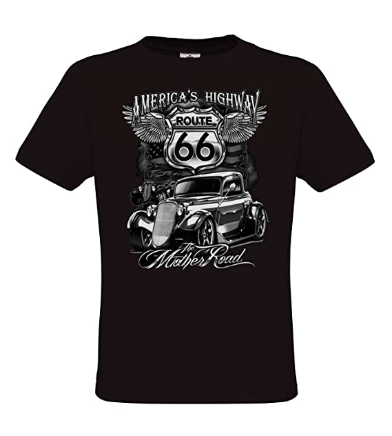 b48308204bdf Ethno Designs Hot Rod - Auto Motiv Oldschool - Vintage Rockabilly Retro  Style T-Shirt