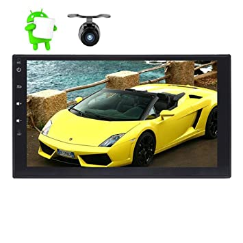 Alling® 7 Pulgadas 2 DIN coche reproductor Android 6.0 sistema en Dash GPS Navigation Car