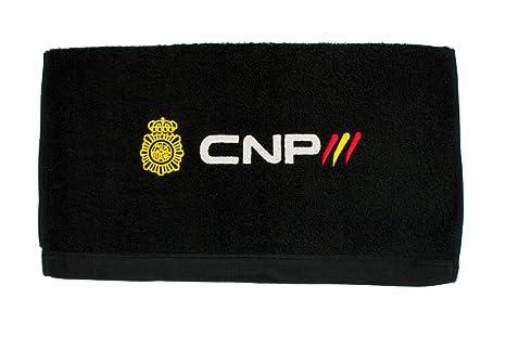 Toalla Policía Nacional CNP (100 x 150 cm, Negro)