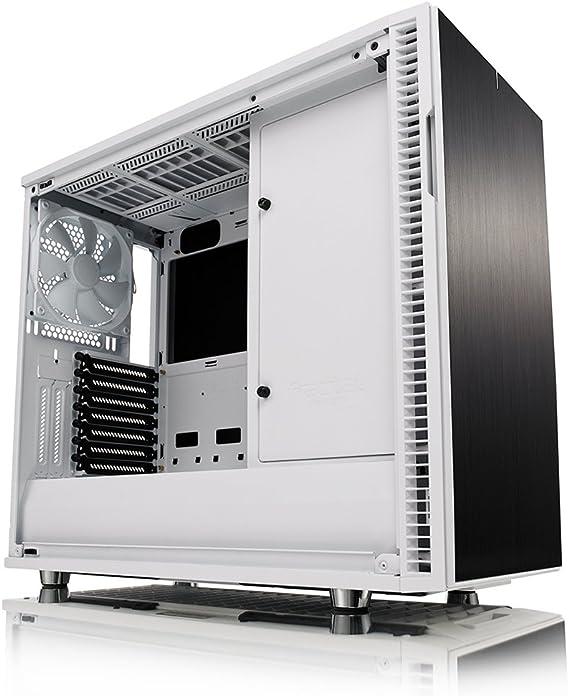 Diseño Fractal Define R6 ATX - Carcasa de Cristal Templado para PC, Color Blanco: Amazon.es: Informática