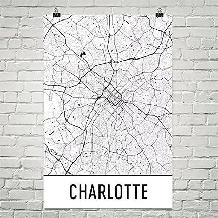 Amazon Com Charlotte Poster Charlotte Art Print Charlotte Wall