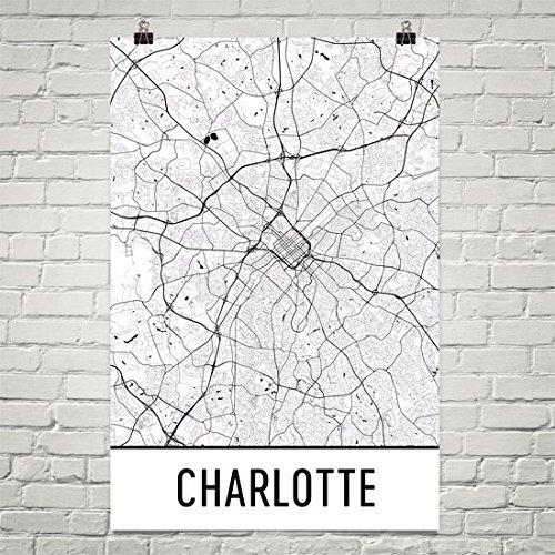 Charlotte Nc City Map on