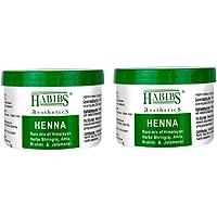 Habibs Heena With Medicinal Herb Black 400 Grams