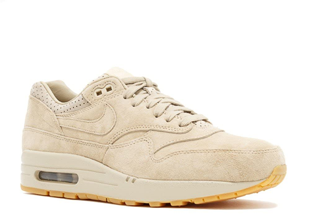 NIKE Women's Air Max 1 Pinnacle Leather Trainers 839608 200