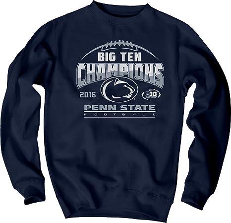 Elite Fan Shop Penn State Football Big Ten Champs Crewneck Sweatshirt Navy  2016 - M e1c353b9e