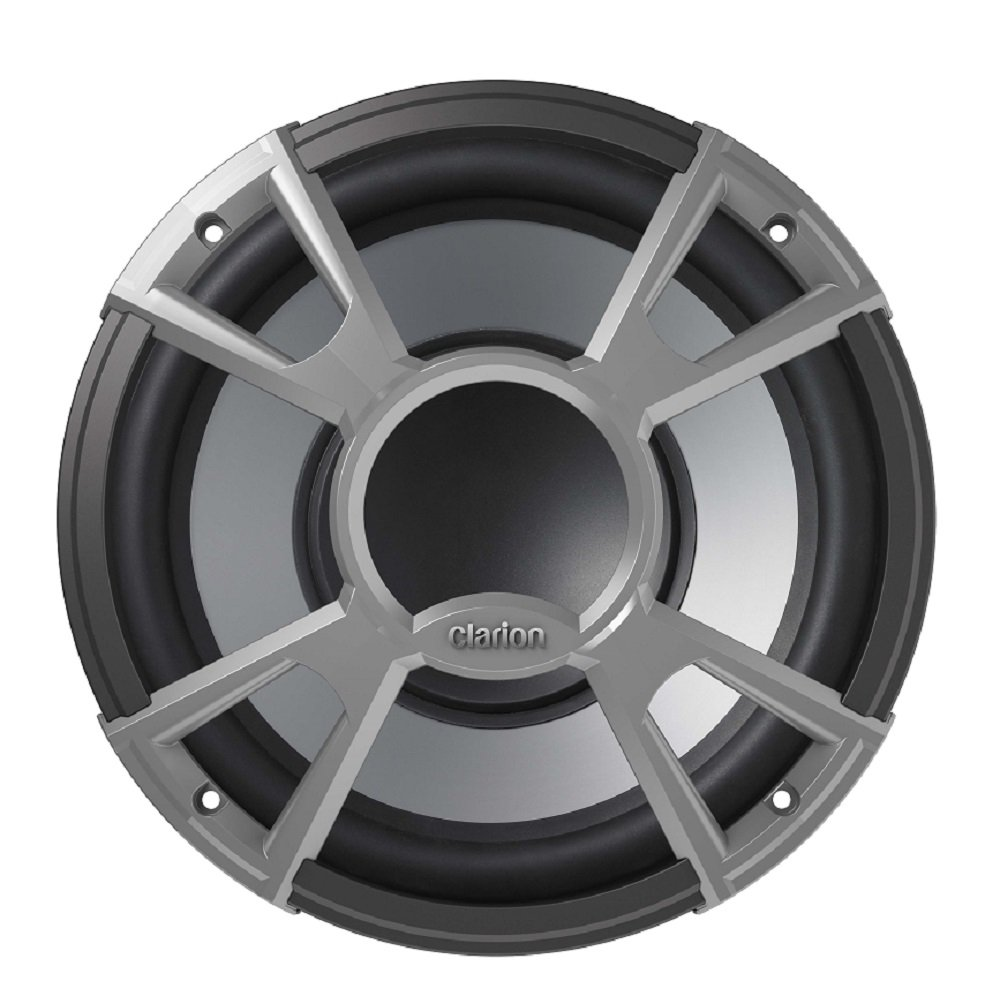Clarion CMQ2512W 10' Subwoofer, Performance Series, 400 W Seawide Marine