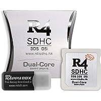 Adaptador R4 SDHC Tarjeta de Memoria Secure Digital Tarjeta de grabación Tarjeta de Juego Tarjeta Flashcard (Plata)