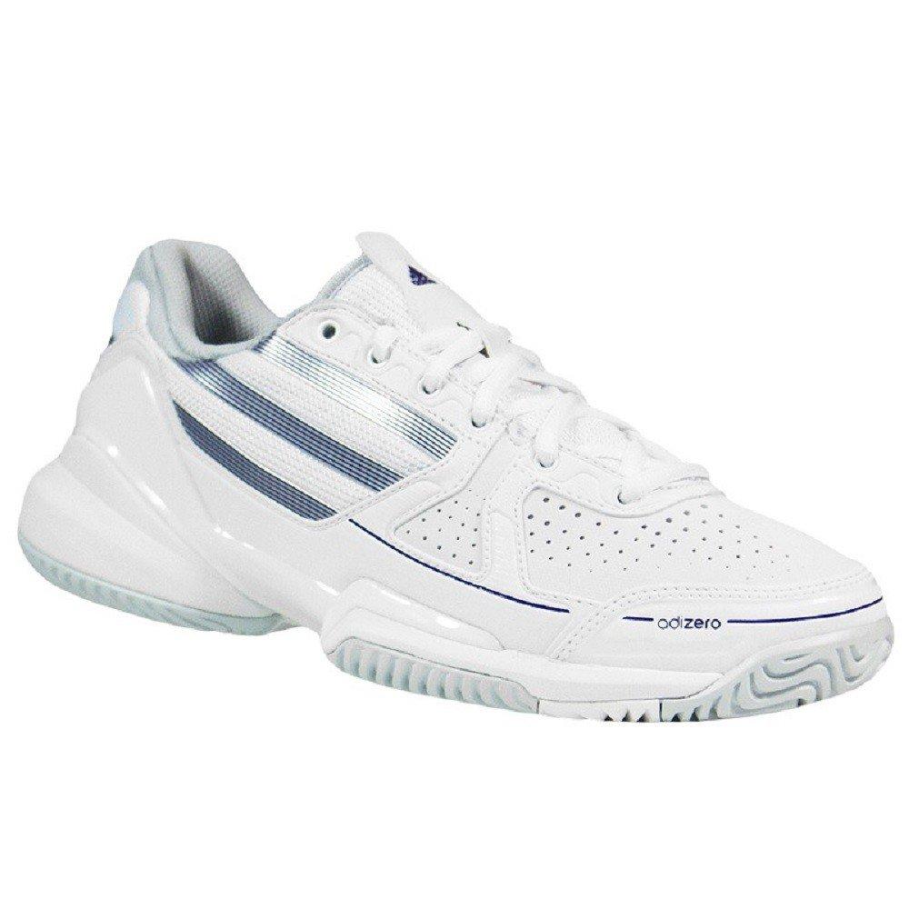 Adidas Adizero Ace W Tennisschuhe Hallenschuhe weiß silber grau