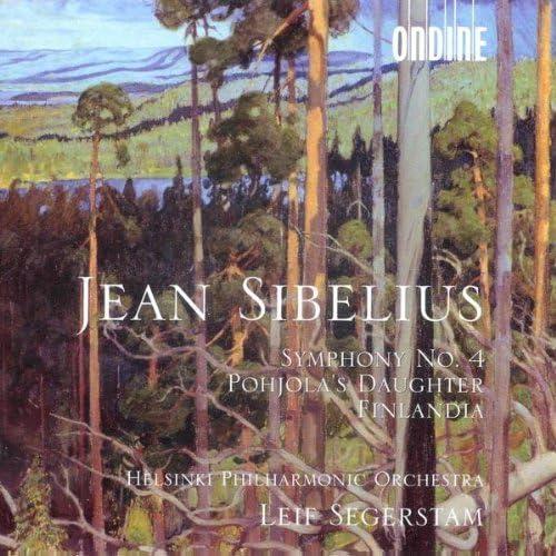 Sibelius: Symphony No. 4; Pohjola's Daughter; Finlandia; Leif Segerstam Helsinki Philharmonic; Polytech Male Choir by Alliance