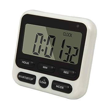 QUMOX Detalles de Large LCD Digital Kitchen Timer Countdown ...