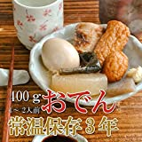 Japanese Food - Japanese Side Dishes Oden 400g X 3 Retort-pouch Packs(precooked Foods / Emergency Foods)
