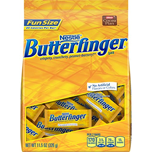 Butterfinger Fun Size Stand Up Bag, 11.5 oz -