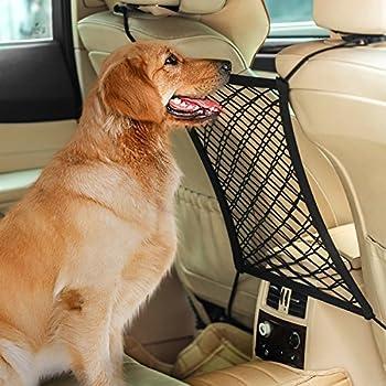 Amazon Autown Car Dog Barrier Car Seat Net Organizer
