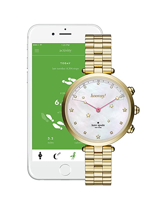 Kate Spade New York Connected Hybrid Smart Watch Holland ...