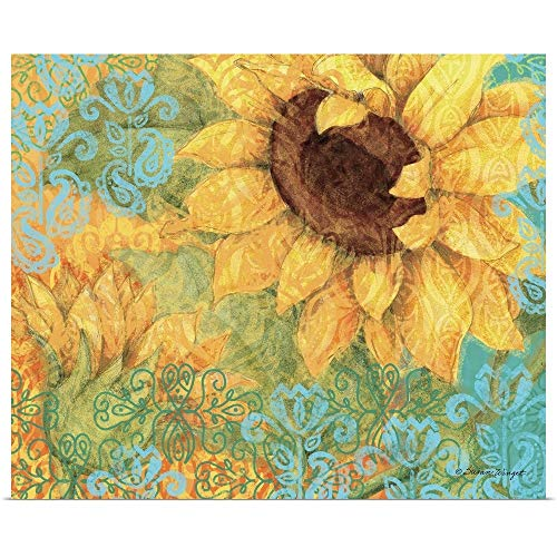 GREATBIGCANVAS Poster Print Entitled Sunflower by Susan Winget 40