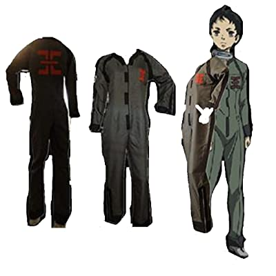 Mister Bear Deadman Wonderland Ganta Igarashi Cosplay Costume + Wig: Clothing [5Bkhe1103337]