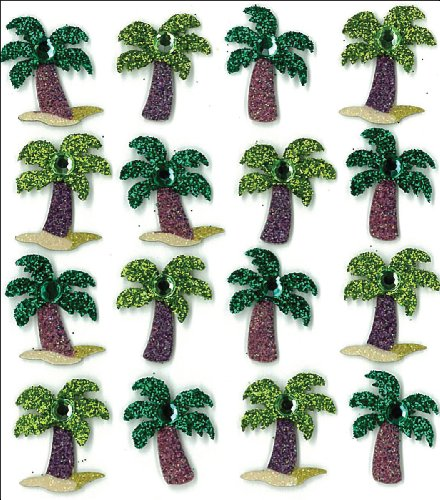 Tree Gift Sticker (Jolee's Boutique Dimensional Stickers, Palm Trees)
