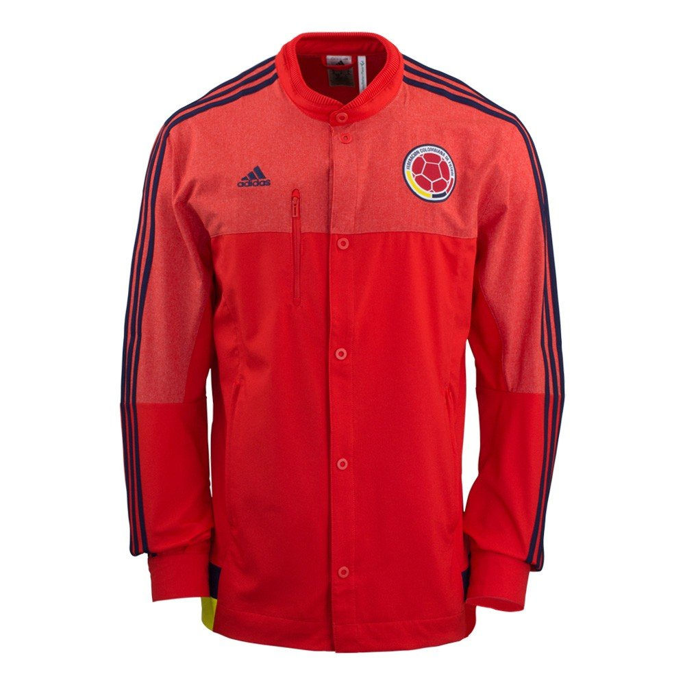 48977d45d33 Amazon.com   Adidas 2015 16 Colombia Anthem Home Jacket  RED  (XL)   Sports    Outdoors