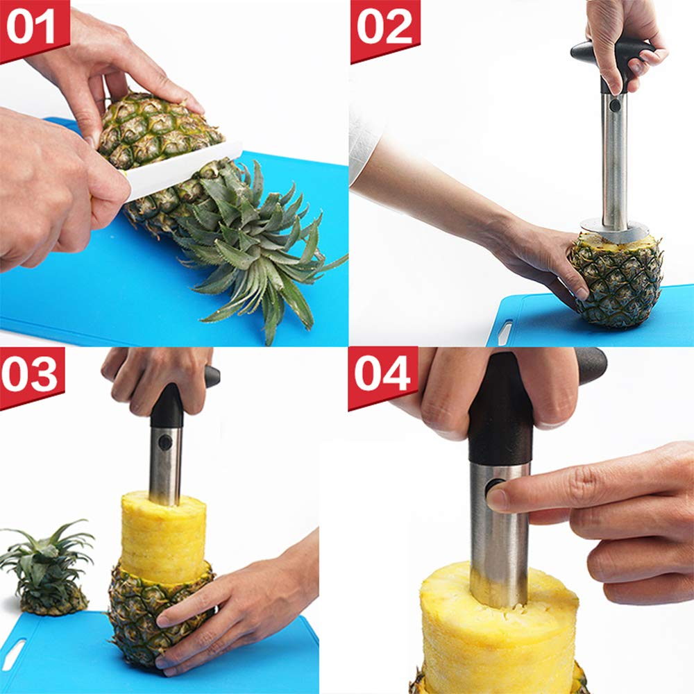Stainless Steel Pineapple Slicer Peeler Cutter and De-corer Just $5.99!