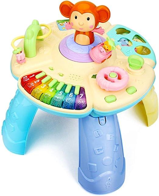 Cajas de música Mesa infantil de juegos Mesa multifuncional de ...