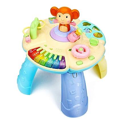 Cajas de música Mesa infantil de juegos Mesa multifuncional de juguetes de educación temprana Juguetes educativos