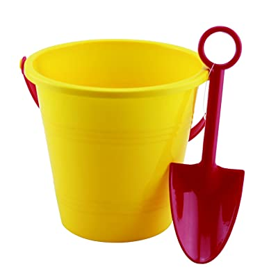 Small World Toys Sand & Water Bucket and Spade: Toys & Games