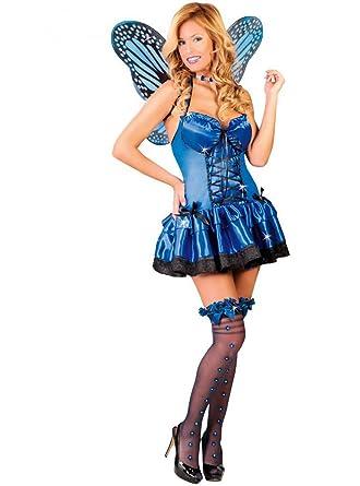 Disfraz de mariposa azul - Estándar: Amazon.es: Ropa y accesorios