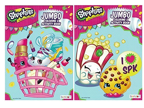 Expert choice for shopkins coloring book jumbo