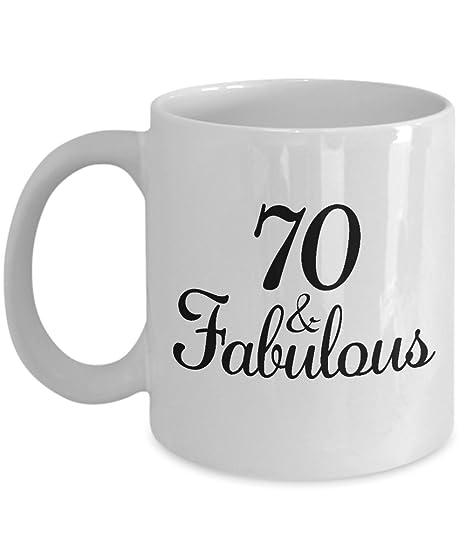 Amazon.com: 70o cumpleaños Ideas de regalos para mujer ...