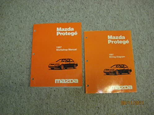 mazda protege workshop manual \u0026 wiring diagram 1997 mazda motor 1997 Mazda Protege Water Pump mazda protege workshop manual \u0026 wiring diagram 1997 mazda motor corporation amazon com books