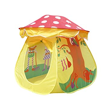 UEETEK Tent Toy Children Boys Girls Mushroom House Tent  sc 1 st  Amazon.com & Amazon.com : UEETEK Tent Toy Children Boys Girls Mushroom House ...