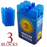 3pk Freezer Block - Keeps Your Lunch or Drinks Cool on Hot Days
