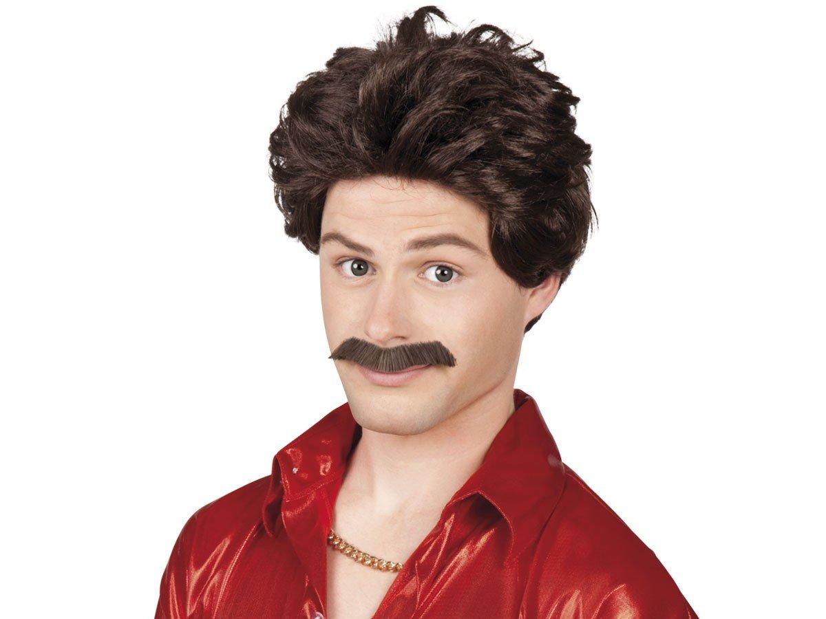 /Perruque Chuck avec Moustache Boland/