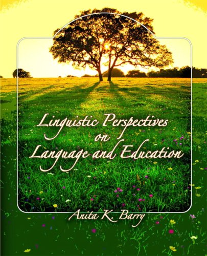 Linguistic Perspectives on Language and Education by Pearson