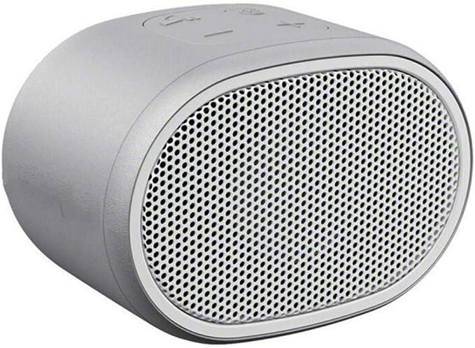 qiyan , Mini Altavoz Bluetooth Altavoces inalámbricos portátiles Caixa De Som Ipx5 Manos Libres Impermeable Llamada de 3,5 mm Puerto de Entrada Altavoces portátiles de Color Gris: Amazon.es: Electrónica