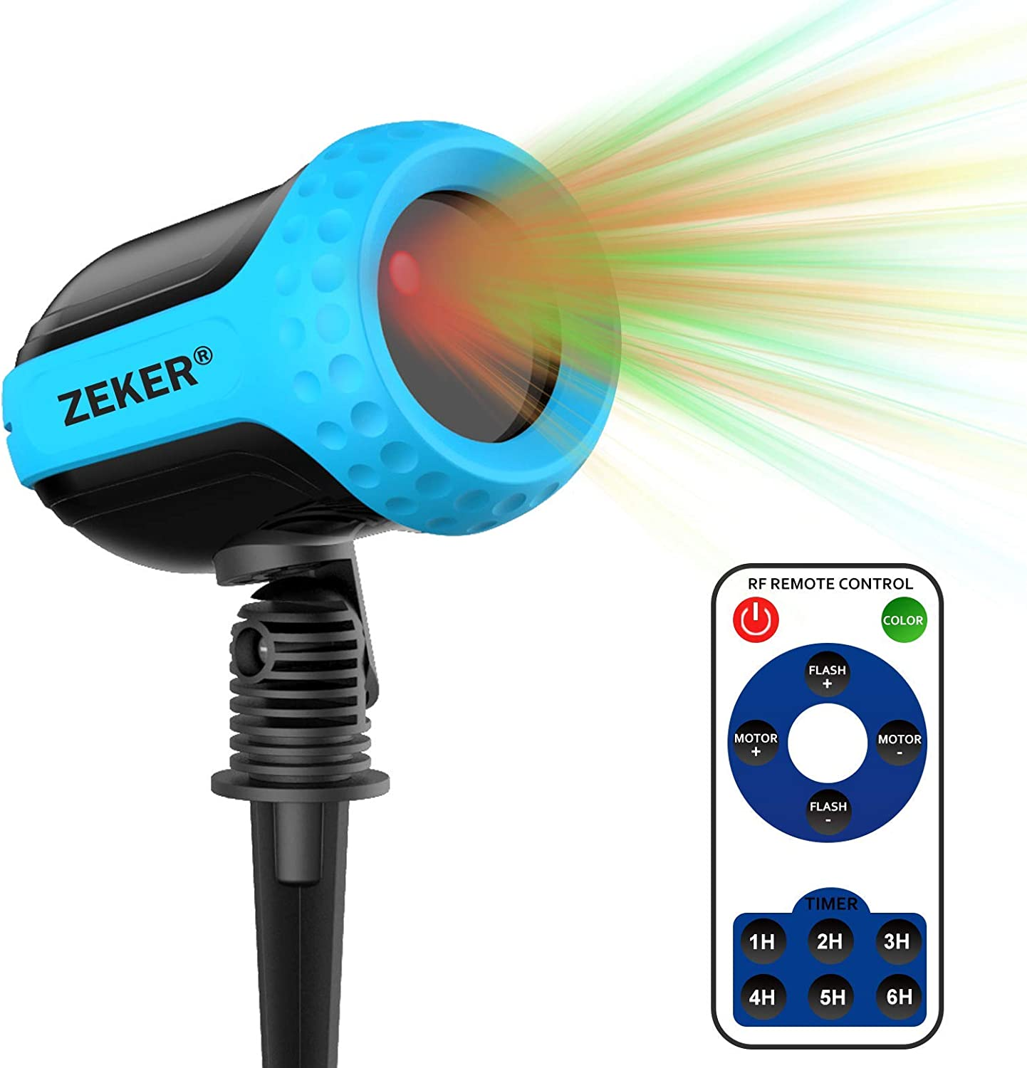 ZEKER Laser Projector Lights