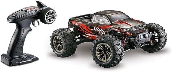 Absima Spirit Schwarz Rot Brushed 1 16 Rc Modellauto Elektro Monstertruck Allradantrieb 4wd Rtr 2 4 Ghz Inkl Akku U Spielzeug