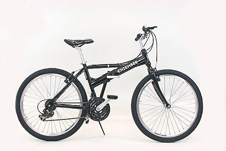 Chiemsee 66,04 cm plegable para Bicicleta Bici Negro: Amazon.es: Deportes y aire libre
