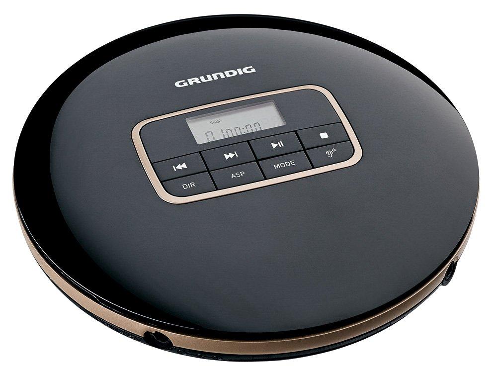 Grundig CDP 6600 - Unidad de CD (MP3, WMA, CD Audio, LCD, 3,5 mm ...