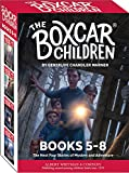 The Boxcar Children Mysteries Books 5-8 (Boxcar Children)