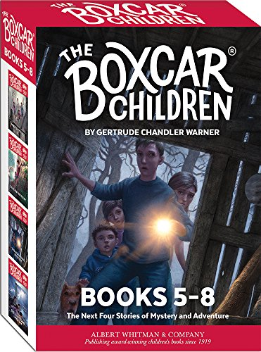 The Boxcar Children Mysteries Books 5-8 (Boxcar Children)) Boxcar Children Book Series