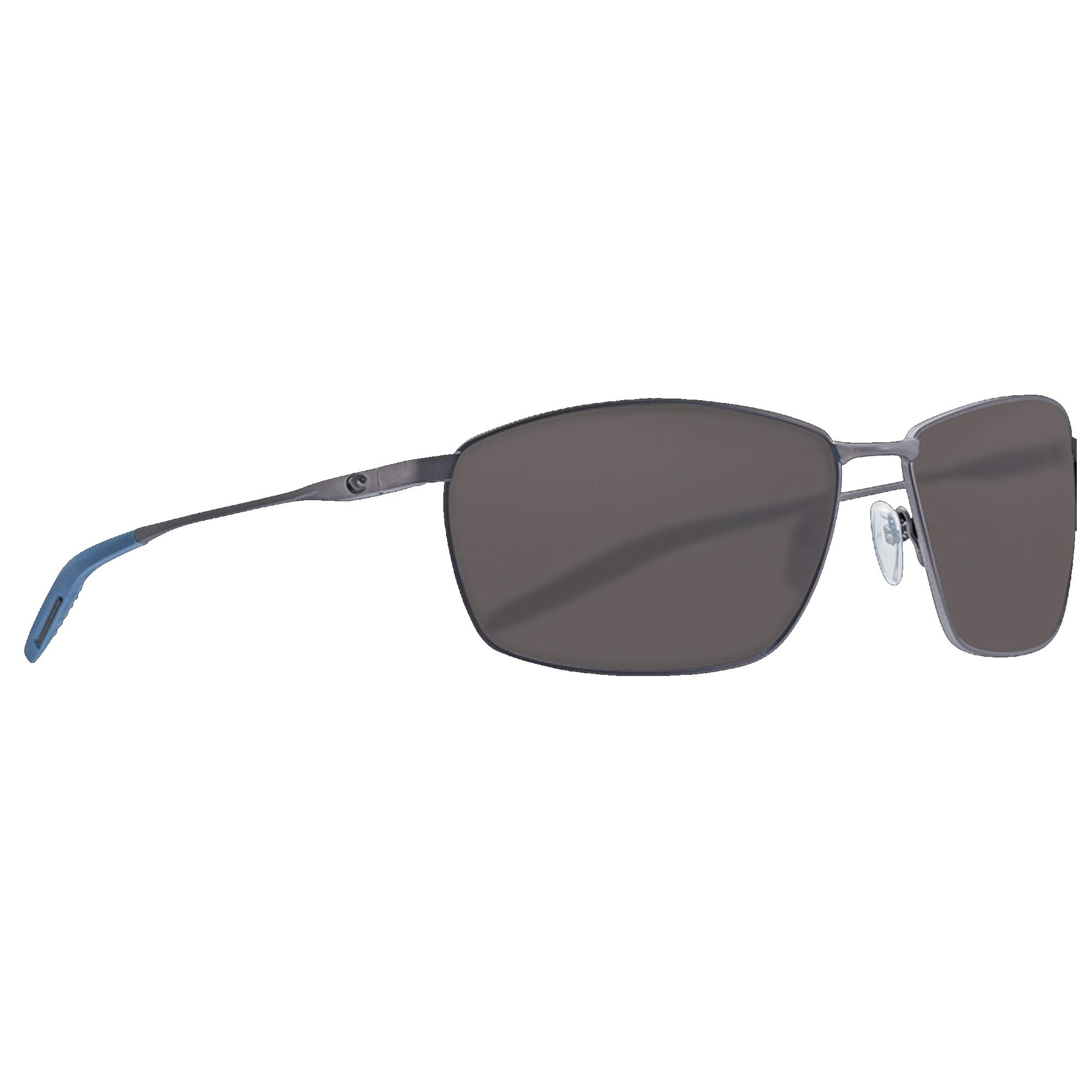 Costa Del Mar - Turret - Matte Dark Gunmetal Frame-Grey 580 Poly Polarized Lenses by Costa Del Mar