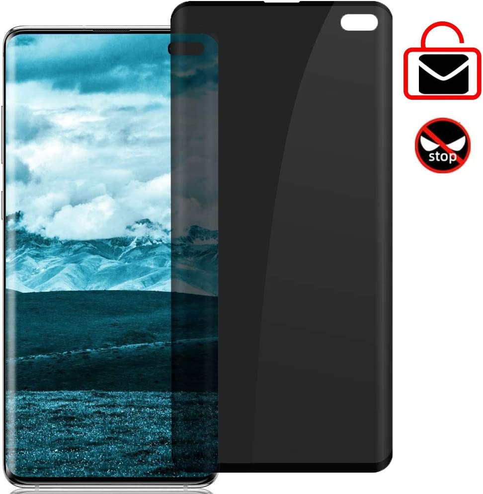 Not Tempered Glass Updated Version Synvy Privacy Screen Protector Film for Nokia 2 V Anti Spy Protective Protectors
