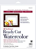 """Strathmore 140311 Watercolor Paper Pack 11"""" x 14"""", 6 Sheets"""